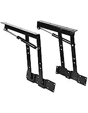 Qiter Hydraulische scharnier, 2x Praktische Lift Up Coffee Table Mechanism Hardware Top Lifting Frame Meubilair