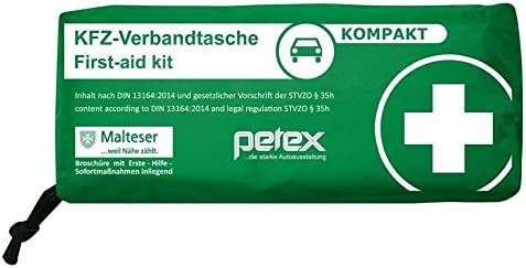 Unbekannt Petex 43930012/ Kit de Primeros Auxilios DIN 13164 Color Rojo