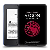 Official HBO Game of Thrones Jon Snow Aegon Graphics Soft Gel Case Compatible for Kindle Paperwhite 1/2 / 3