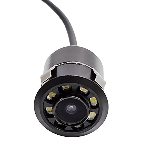 Car Rear View Camera With LED Night Vision 140° Viewing Angle Waterproof