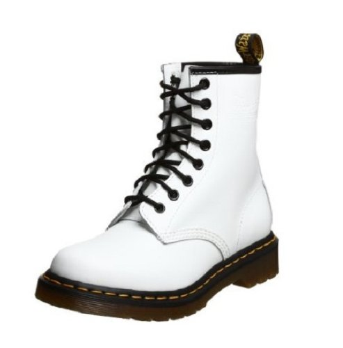 Dr. Martens Women's 1460 Re-Invented Victorian Print Lace Up Boot B00QZZLK4E 6 M UK|White