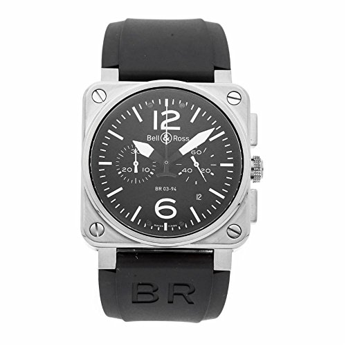 Bell-Ross-BR-03-Automatic-self-Wind-Male-Watch-BR03-94-S-Certified-Pre-Owned