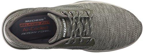 Recent para Zapatillas Verde Merven Skechers de Oliva Entrenamiento Hombre SnqaxpTd
