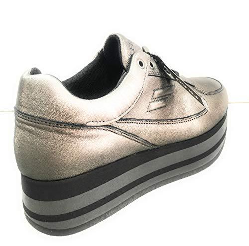Antracite 40 Frau Sneaker Misura Donna CwXEBqz