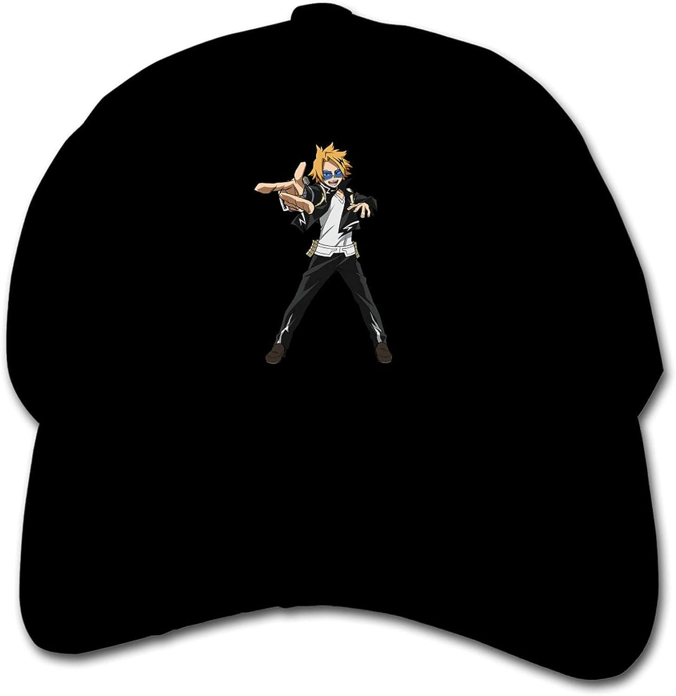 My Hero Academia Shanname Electric Children's Baseball Cap Adjustable Hip-Hop Hat Outdoor Sun Hat Black