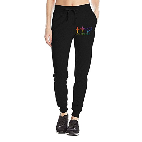 ve Christian Faith Bible Personalized Sweatpants Pockets For Girls Sweatpants Casual Pants Tighten Ankle Medium (Personalized Sweatpants)