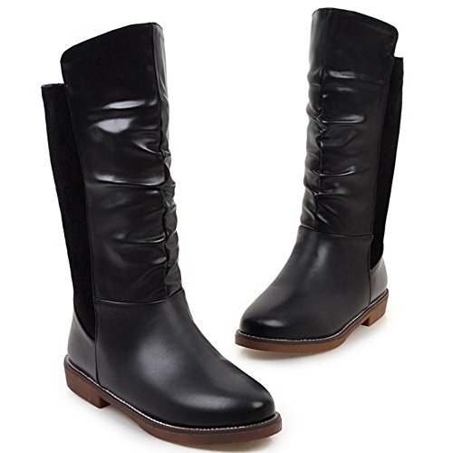 COOLCEPT Riding Boots para Mujer Black