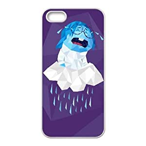 iPhone 5 5s Cell Phone Case White FRAGMENTED SADNESS Jjqgw