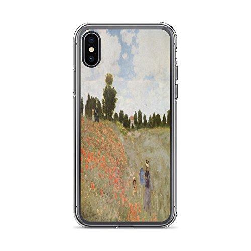 (Claude Monet's Coquelicots, La Promnade (Poppies) 0043 - iPhone Xs Max Phone Case)