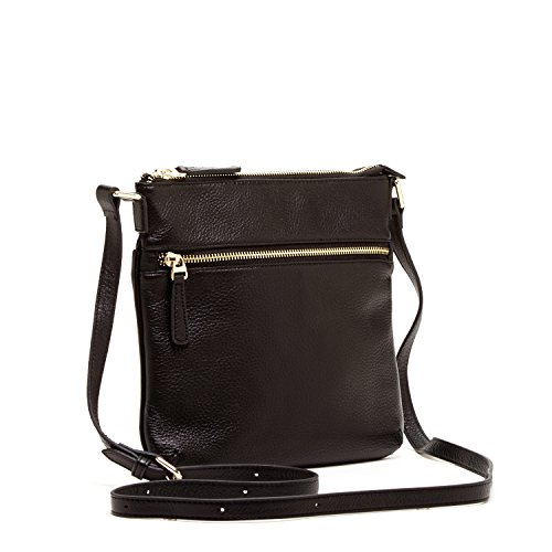 27693b05835 SUSU The Saxon Leather Crossbody Bag Cross Over Purse Messenger Bags for Women  Cross Body Shoulder