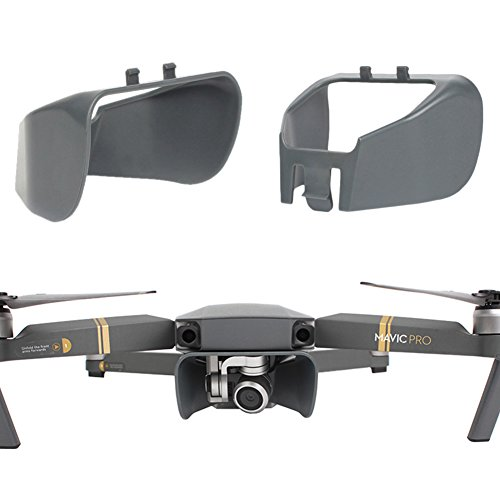 Aterox Compatible With Upgrade Version Lens Hood Sun shade Anti-Glare Gimbal Cover Camera Guard protector DJI Mavic Pro / Platinum