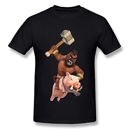 SunzioSet Men's Clash Of Clans Hog Rider T - Clash Of Clans T Shirt