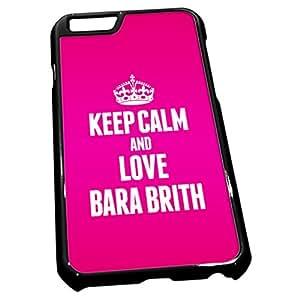 Negro para iPhone 6 0803 rosa iposters Bnei Brith Bara amor