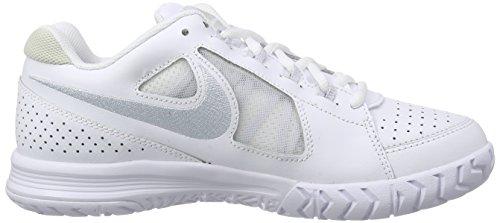 Nike Air Vapor Ace Damen Tennisschuhe Weiß (White/Pr Pltnm-Lght Bn-Pr Pltn 102)