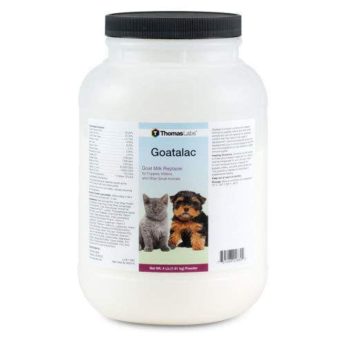 - Thomas Laboratories 110-2720.P06 Goat-A-Lac Supplement Powder for Pets, 4-Pound