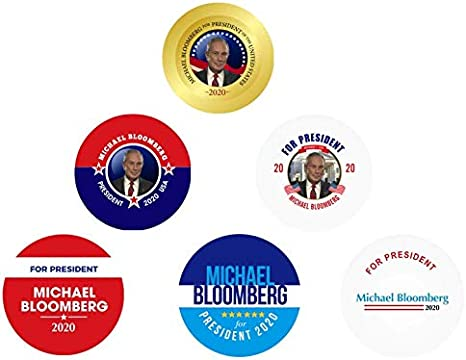 Mike Bloomberg 2020 Candidate Official I Like Mike Bloomberg Campaign Button