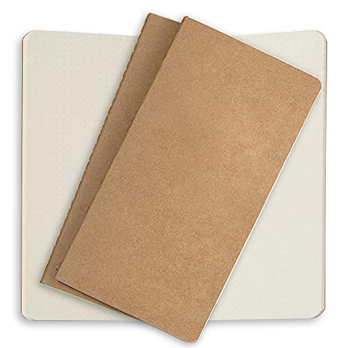 - Dotted Notebook Paper Refills 3 Pack Cream Dot Grid Inserts for Standard Refillable Travelers Leather Travel Journals 8.5 x 4.5. Traveller's Journal Thick Spare Dots Paper Insert for TN Travel Diary