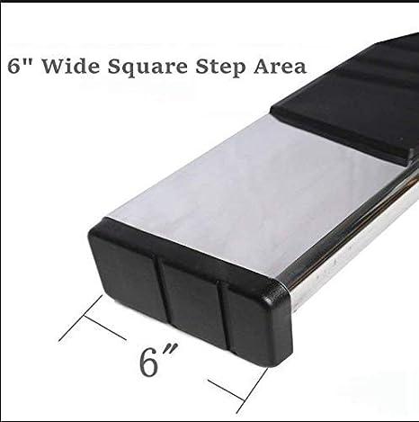 Nerf Bars Side Steps Side Bars New Model Dodge ram 1500 Crew Cab w// 4 Full Doors NO 2019 Classic Refineon 6 Chrome S//S Running Boards for 2019-2020