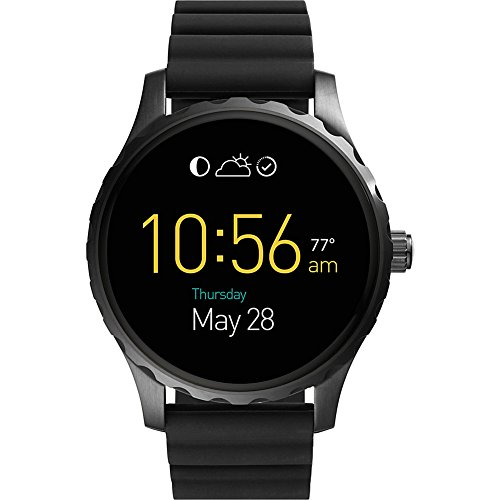 Fossil Q Marshal Digital Display Silicone Touchscreen Smartwatch