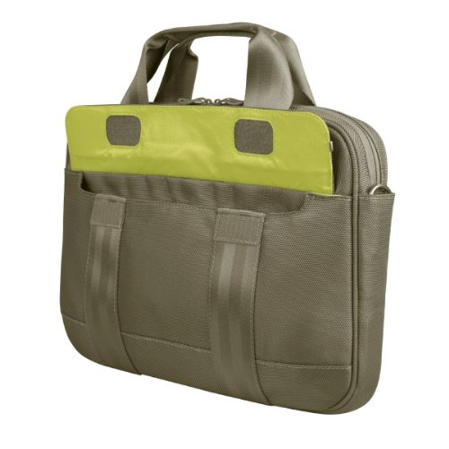 be.ez LE rush Messenger Bag for 13.3-Inch MacBooks (Khaki...