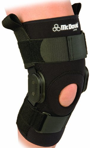 McDavid PSII Hinged Knee Brace For Treatment of Ligament, Cartilage Injuries and Arthritis, Sport, Skiing, Custom Fit, Hinged, Comfortable, Stabiliser, Rehabilitation, Non-Slip, Neoprene Sleeve X-Large by Mcdavid (Mcdavid Psii Hinged Knee Brace)
