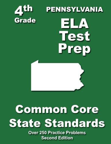 Download Pennsylvania 4th Grade ELA Test Prep: Common Core Learning Standards pdf epub