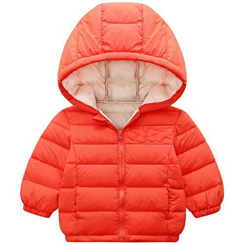 Minizone Donsjas voor kinderen, met capuchon, wintermantel, voor jongens en meisjes, sneeuwpakken