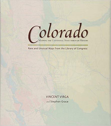 Amazon com: Colorado: Mapping the Centennial State through