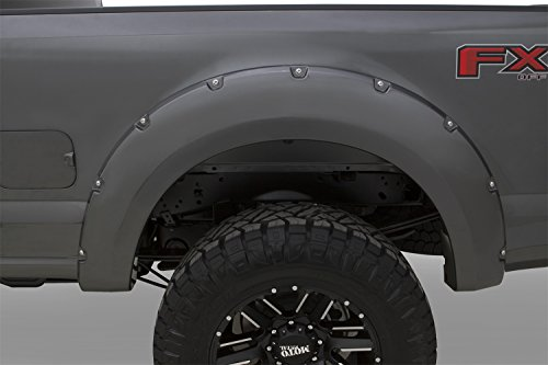 Bushwacker 20942-6A Magnetic Pocket Style Color Matched Fender Flares, 4 Piece