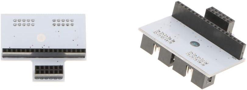 Baoblaze 2pcs Módulo de Interruptor Adaptador de Panel LCD de ...