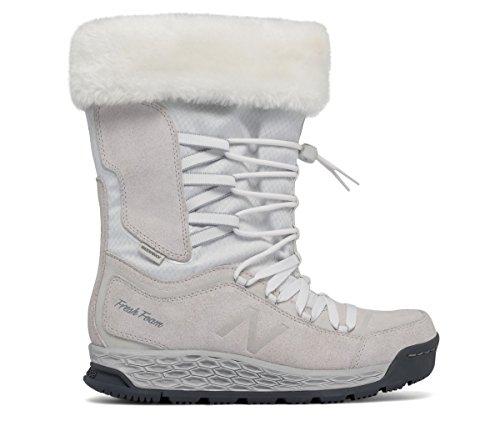 (ニューバランス) New Balance 靴?シューズ レディースウォーキング Fresh Foam 1000 Boot White with Lead ホワイト リード US 8.5 (25.5cm)