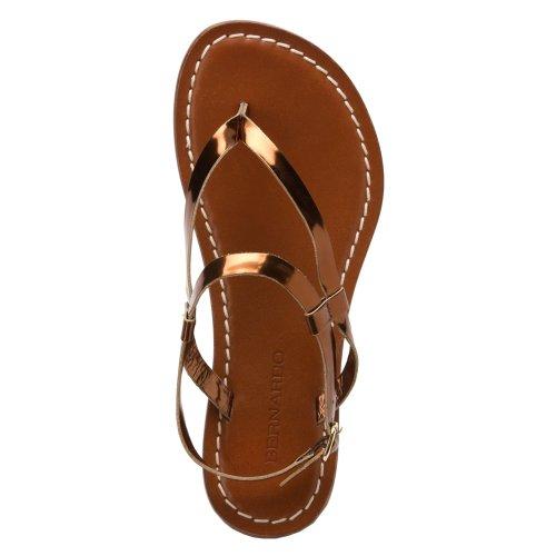Bernardo Women's Merit Flat Sandal Bronze lowest price online tMN1z59UAg