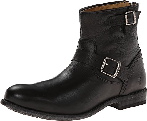 FRYE Men's Tyler Engineer Boot,Black,12 M US (Engineer Frye)