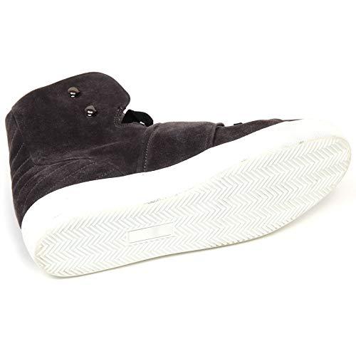 Grigio Grey Moncler Sneaker Shoe F1162 Suede Scarpe Donna Scuro Woman Dark qIAznwIP