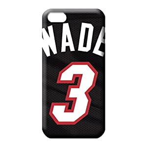 iphone 6plus 6p Shock-dirt Retail Packaging series phone carrying covers miami heat nba basketball