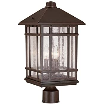 J du j sierra craftsman 18 high outdoor post mount light outdoor j du j sierra craftsman 18quot high outdoor post mount light mozeypictures Gallery
