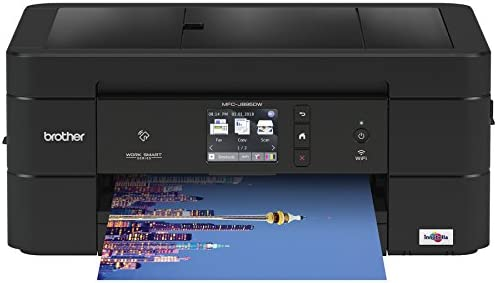 Brother Wireless All-In-One Inkjet Printer, MFC-J895DW, Multi-Function Color Printer, Duplex Printing, NFC One Touch to Connect Mobile Printing, Amazon Dash Replenishment Enabled 41mBrzpgJAL