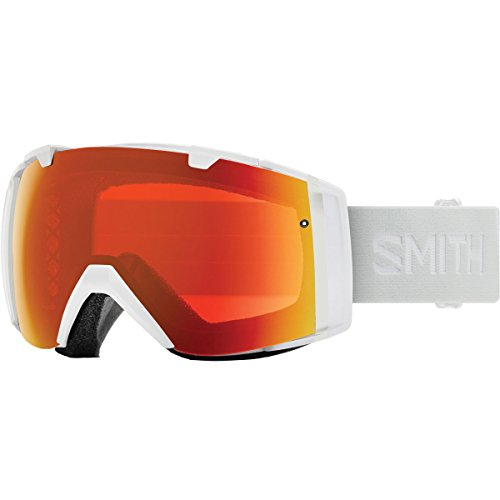 Smith Optics I/O Adult Snow Goggles - White Vapor/Chromapop Everyday Red Mirror
