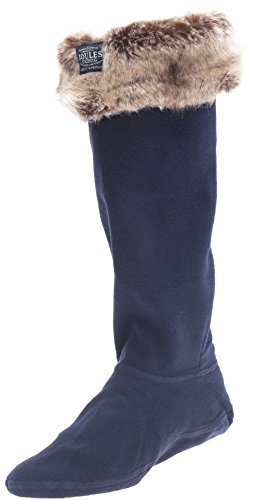 Joules Women's Frida Rain Boot Sock, French Navy, 5 M US from Joules