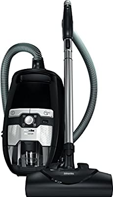 Miele Blizzard CX1 Electro and Bagless Canister Vacuum, Obsidian Black