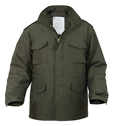 Rothco M-65 Field Jacket - Olive Drab, - Jacket Mens Field
