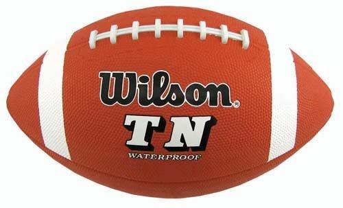 ウィルソンTN YOUTH Rubber Football、ブラウン B0028R39GU