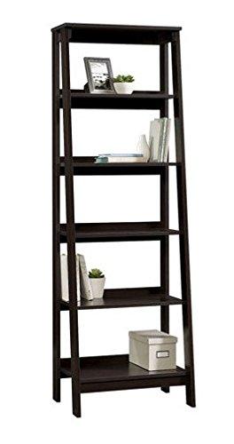 5-Shelf Trestle Bookcase - Espresso (Sauder Espresso Bookcase compare prices)
