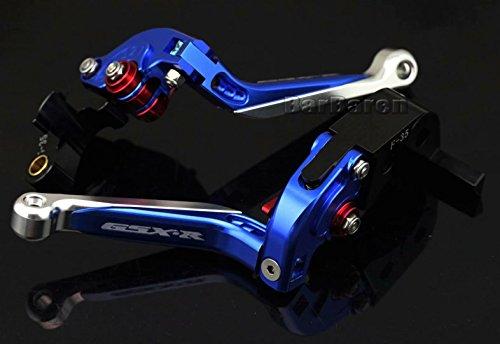 CNC Folding Extendable Brake & Clutch Levers For Suzuki GSX-R1000 2005-2006 GSX-R600 GSX-R750 2006-2010