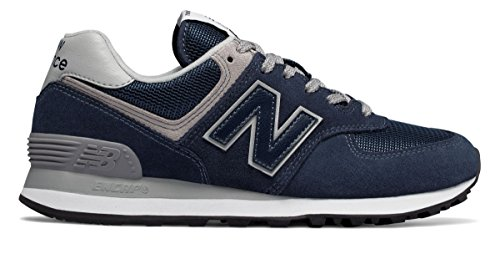 港単調な反逆(ニューバランス) New Balance 靴?シューズ レディースライフスタイル 574 Navy with White ネイビー ホワイト US 9.5 (26.5cm)