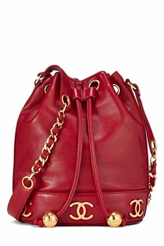 Red Chanel Handbag - 1