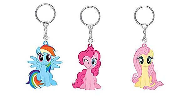 Joy Toy 95798 Little Pony 3 - Llavero de Vinilo con Etiqueta ...