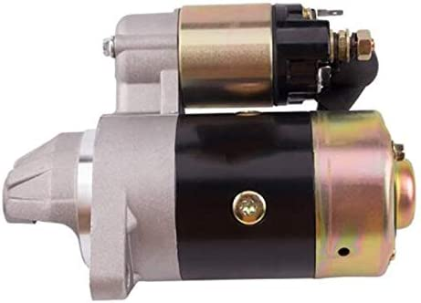 PQZATX QD114A D/émarreur de moteur 12 V 0,8 KW Cuivre utilis/é sur 170F 178F 186F Pi/èces de d/émarrage de moteur