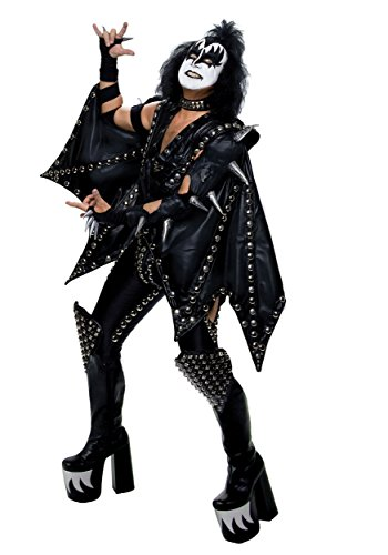 Fun Costumes Adult Authentic Gene Simmons Demon Costume Large/X-Large Black for $<!--$299.99-->