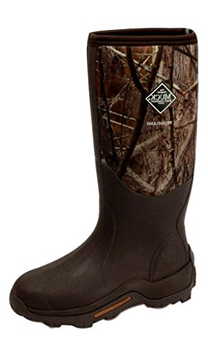 Muck Boot Co Mens Wetland Premium Field Boot, 9, BUCK BRU...